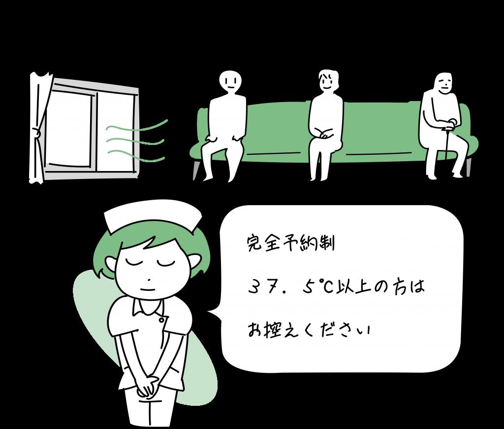東京横浜TMSクリニックは、感染対策に力を入れています。