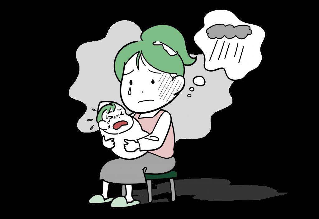 産後うつ病の特徴と治療についてご紹介します。
